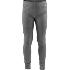 Craft Junior Essential Warm Pants Dk Grey Melange